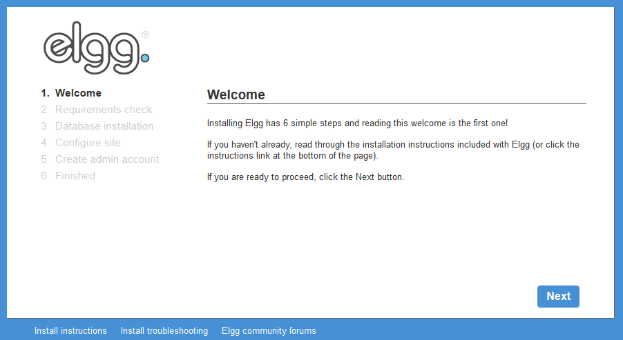 Elgg - Open Source Social Networking Engine.